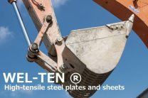 Processed High tensile steel plate (Brand name WEL-TEN780)